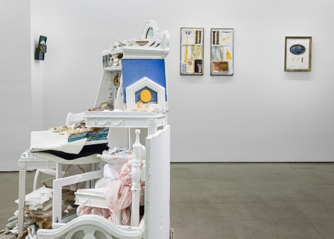 """Installation view of Julie Schenkelberg: """"From the Ashes"""""""