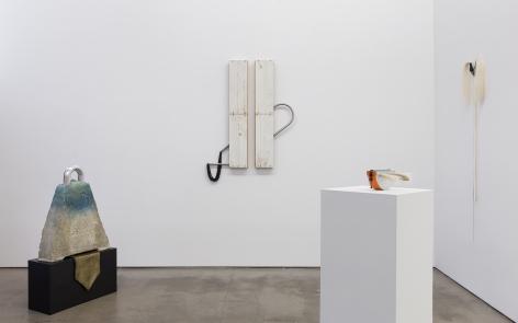 Installation of sculpture by Trish Tillman