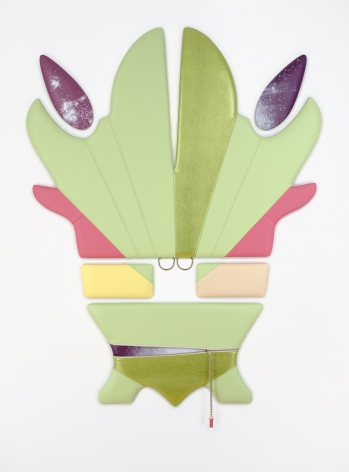 Vinyl sculpture by Trish Tillman