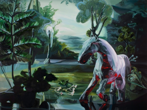 Emma Webster, Pale Horse, 2019