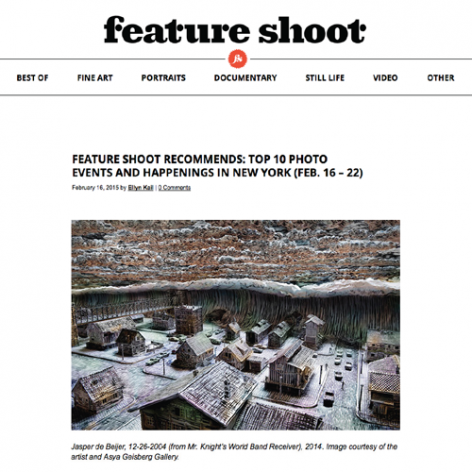 """Feature Shoot Recommends: Top 10 Photo Events and Happenings in New York"""