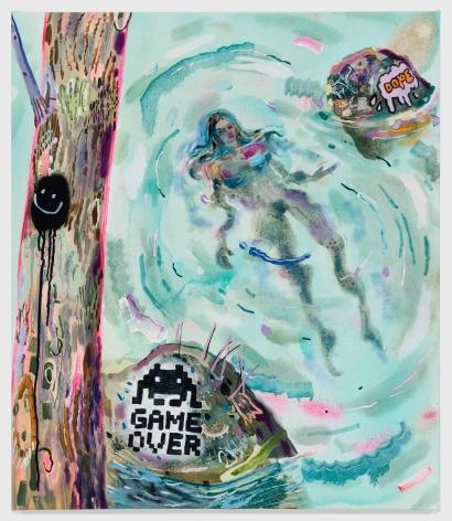 Painting on canvas by Melanie Daniel