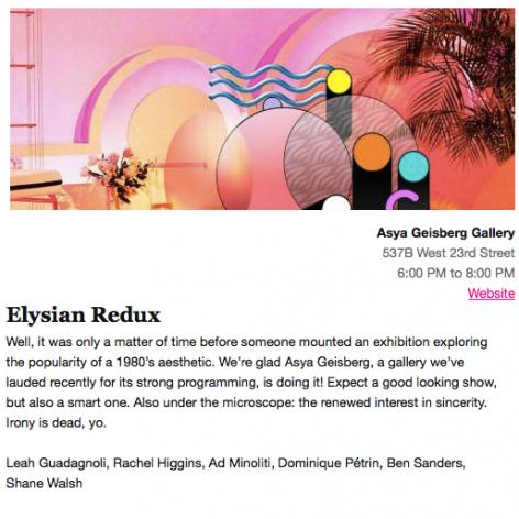 Elysian Redux