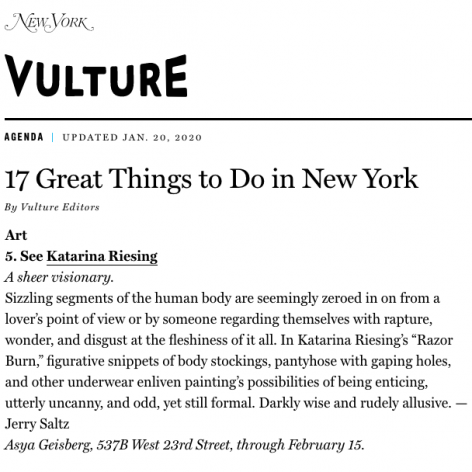 Article in New York Magazine