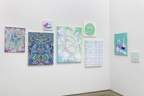 Installation of works by Todd Kelly