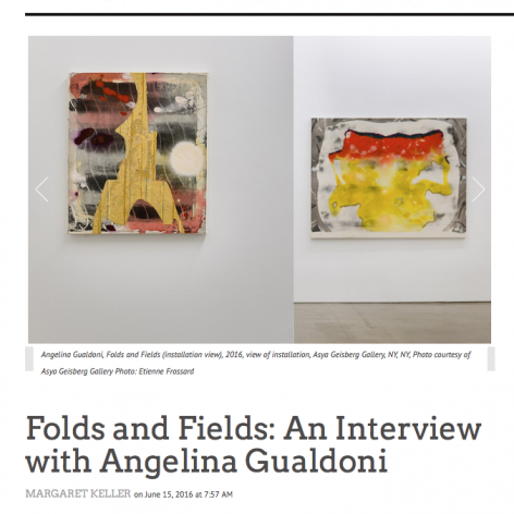 Folds and Fields artist interview