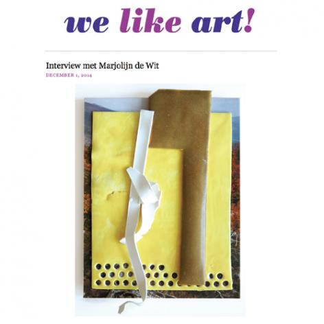 We Like Art! artist interview