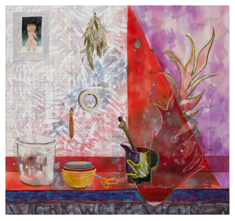 painting on canvas by Angelina Gualdoni