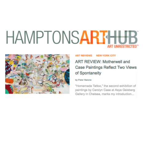 """Hamptons Art Hub, """"Motherwell and Case Paintings Reflect Two Views of Spontaneity"""""""