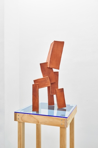 terracotta sculpture by Todd Kelly