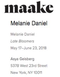 Maake Magazine: Melanie Daniel