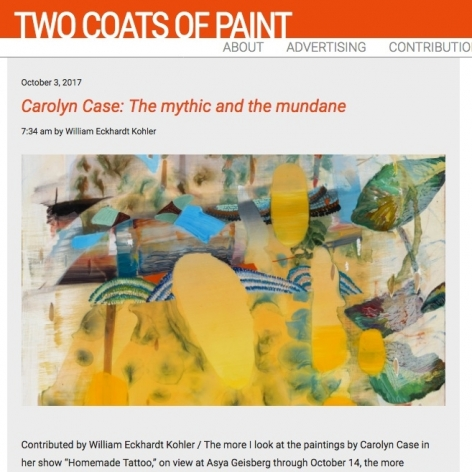 Two Coats of Paint, Carolyn Case