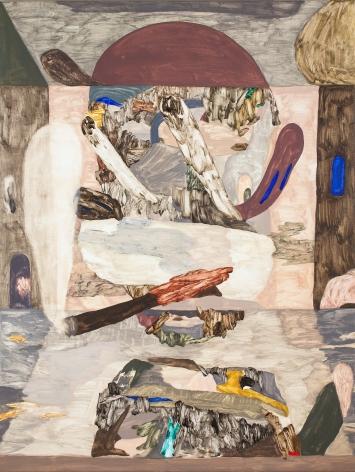 Painting by Gudmundur Thoroddsen