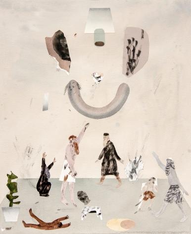 work on paper by Guðmundur Thoroddsen