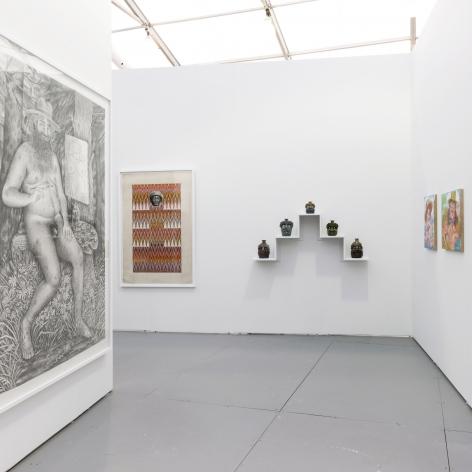 Miami Art Week booth installation