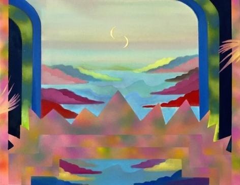 Painting on canvas by Sharona Eliassaf