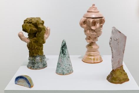 Installation of sculptures