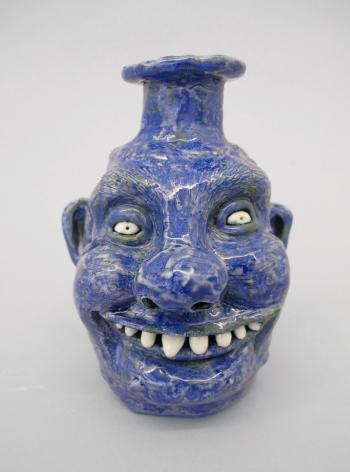 face jug sculpture by Rebecca Morgan