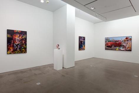 installation of works by Jasper de Beijer