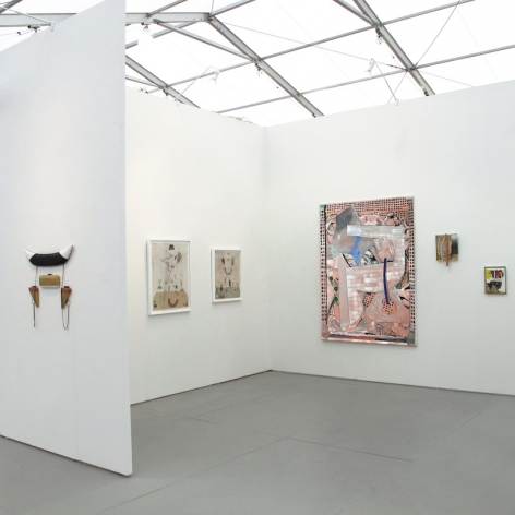 Installation of UNTITLED Miami booth