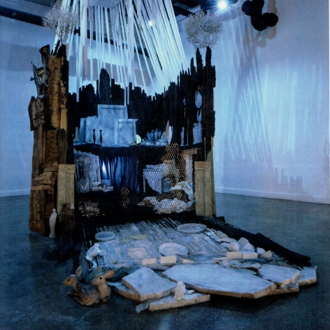 Kolaj Magazine Issue #26 julie Schenkelberg installation
