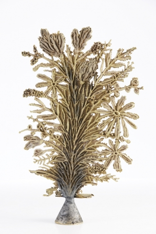 brass sculpture by Rebecca morgan