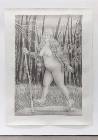 Graphite on paper by Rebecca Morgan