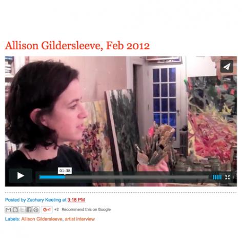 Gorky's Granddaughter, Allison Gildersleeve Feb. 2012
