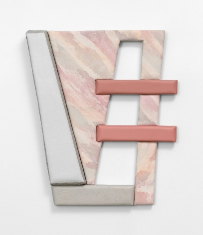 It Starts with L, wall sculpture