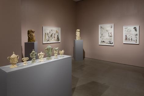 installation of works by Gudmundur Thoroddsen