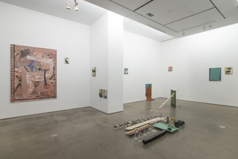 Installation of works by Marjolijn de Wit