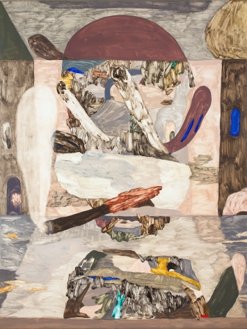 Oil painting on linen by Gudmundur Thoroddsen