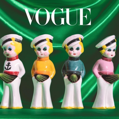 """Trish Tillman in Vogue Magazine - """"A First Look at The Planter Show, an Exhibition That Proves the Playful Potential of Flower Pots"""", by Lilah Ramzi"""