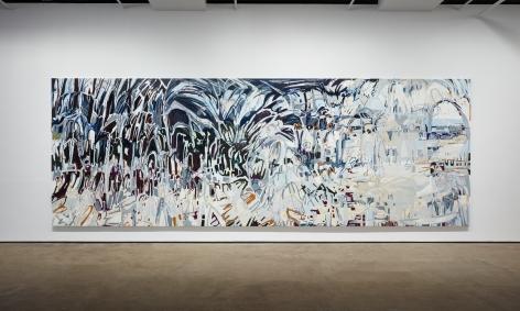 Installation view of Janaina Tschäpe:Balancing into the Deepat Sean Kelly, New York