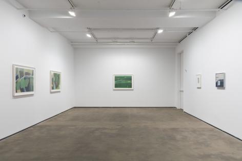 Installation view of Ilse D'Hollander: Tension Field at Sean Kelly, New York