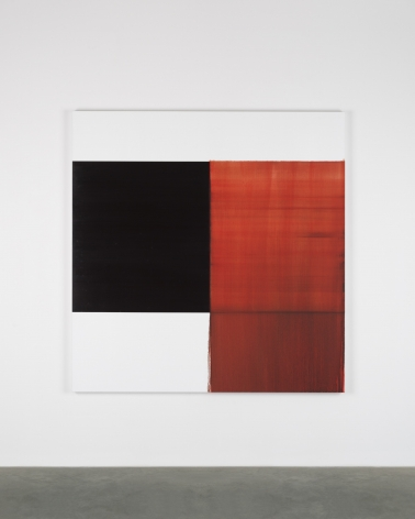 CALLUM INNES, Exposed Painting Crimson Lake, 2018