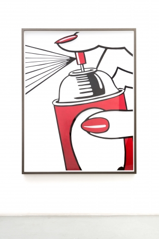Untitled (Spray), 2020, archival pigment print