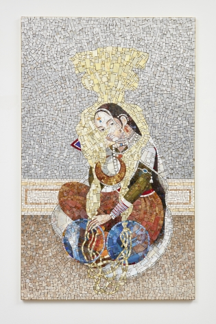 Shahzia Sikander The Perennial Gaze, 2018
