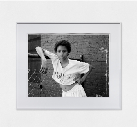 Dawoud Bey A Girl with School Medals, 1988