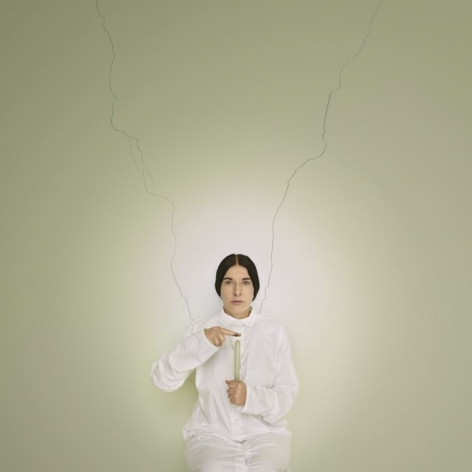 MARINA ABRAMOVIĆ Artist Portrait with a Candle, 2013