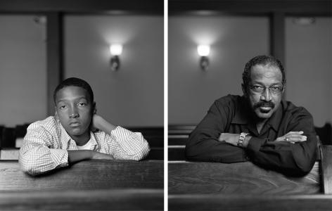Braxton McKinney and LaVone Thomas, 2012