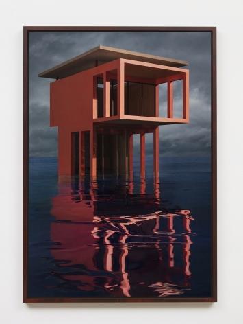 JAMES CASEBERE Red/Orange Solo Pavilion, 2018
