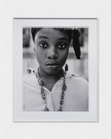 DAWOUD BEY, A Girl with a Knife Nosepin, Brooklyn, NY, 1990