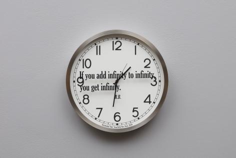 JOSEPH KOSUTH 'Quoted Clocks #16', 2020