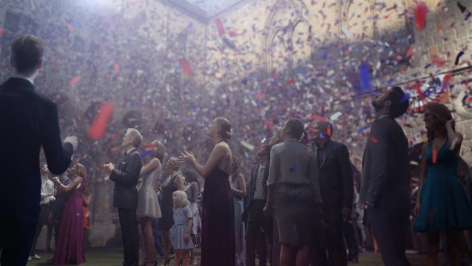 "DAVID CLAERBOUT, the ""confetti"" piece, 2015-2018"