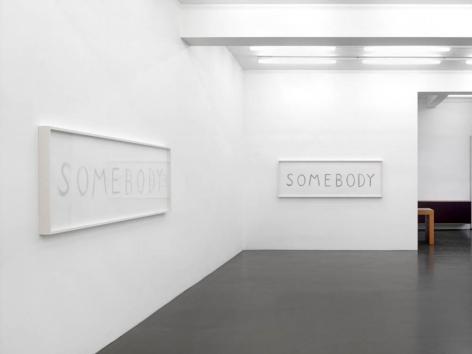 Kris Martin Somebody, 2013