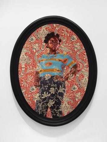 Portrait of Yvonne Osei, 2018, oil on canvas