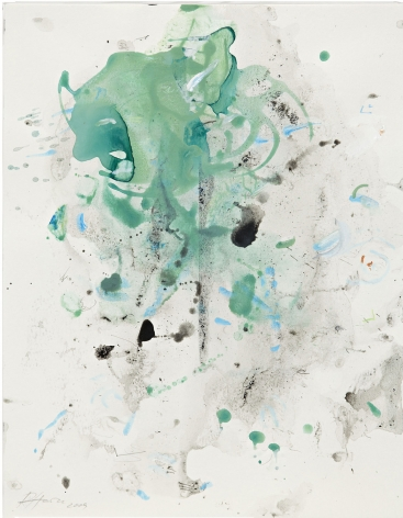 Untitled, 2009, gouache on paper