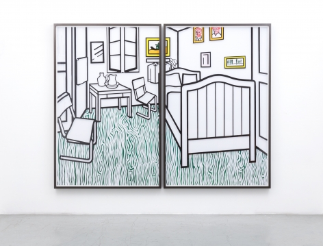 JOSE DAVILA, Untitled (Bedroom at Aries), 2019