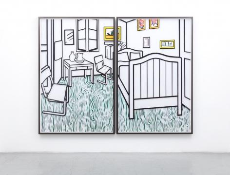 JOSE DAVILA, Untitled (Bedroom at Aries), 2019
